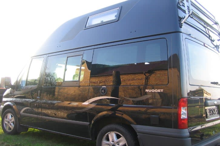 wohnmobil ford nugget sir henry in cottbus mieten. Black Bedroom Furniture Sets. Home Design Ideas