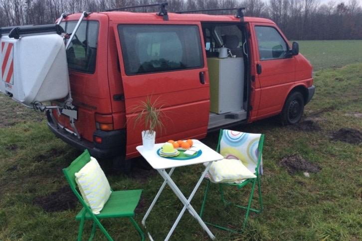 camper vw t4 harli in dortmund mieten paulcamper. Black Bedroom Furniture Sets. Home Design Ideas
