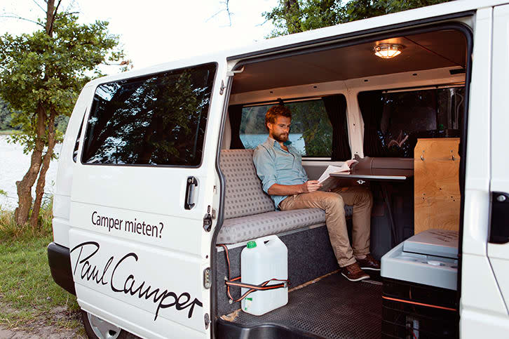 vw t4 camper paul in berlin privat mieten paulcamper. Black Bedroom Furniture Sets. Home Design Ideas