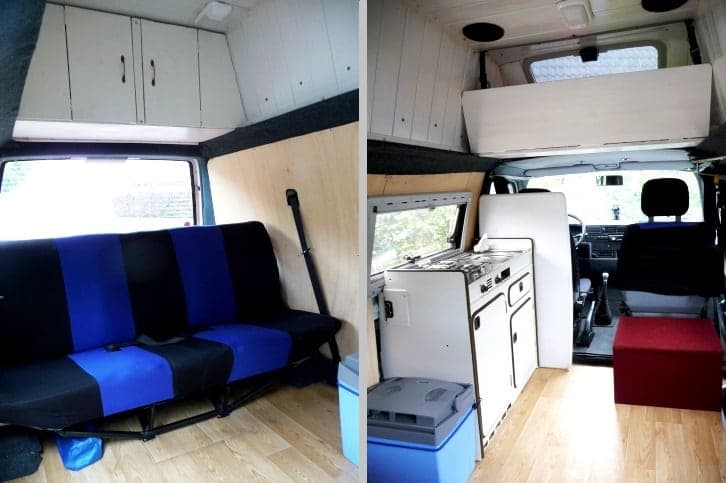 vw t4 bus camper in hannover mieten. Black Bedroom Furniture Sets. Home Design Ideas
